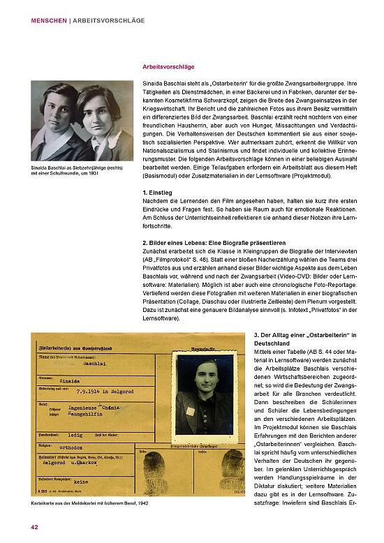 Teacher\'s Book • Forced Labor 1939 - 1945