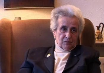 Anita Lasker-Wallfisch during the interview, 2007